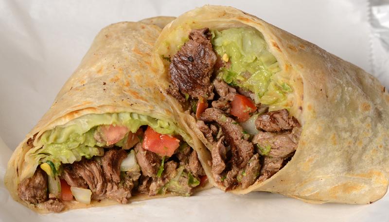 Food Network Carne Asada Burrito